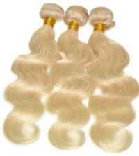 Russian Blonde Body Wave Bundle Deal