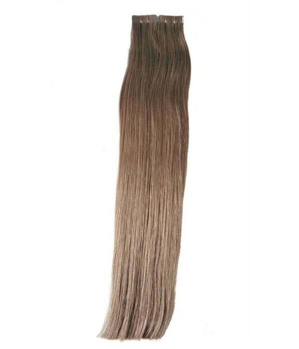 Chestnut Brown Tape In Extensions Amari Hair Extensions